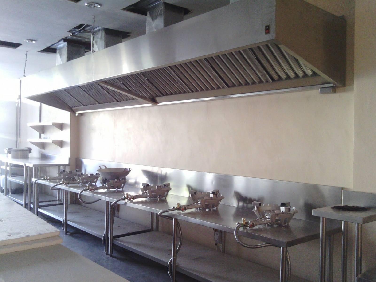 Area Dapur Catering Restoran
