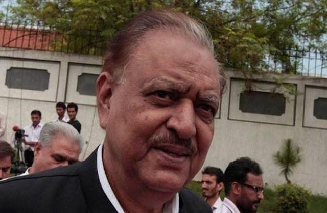PAK राष्ट्रपति ने भारत पर लगाया बातचीत से पीछे हटने का आरोप