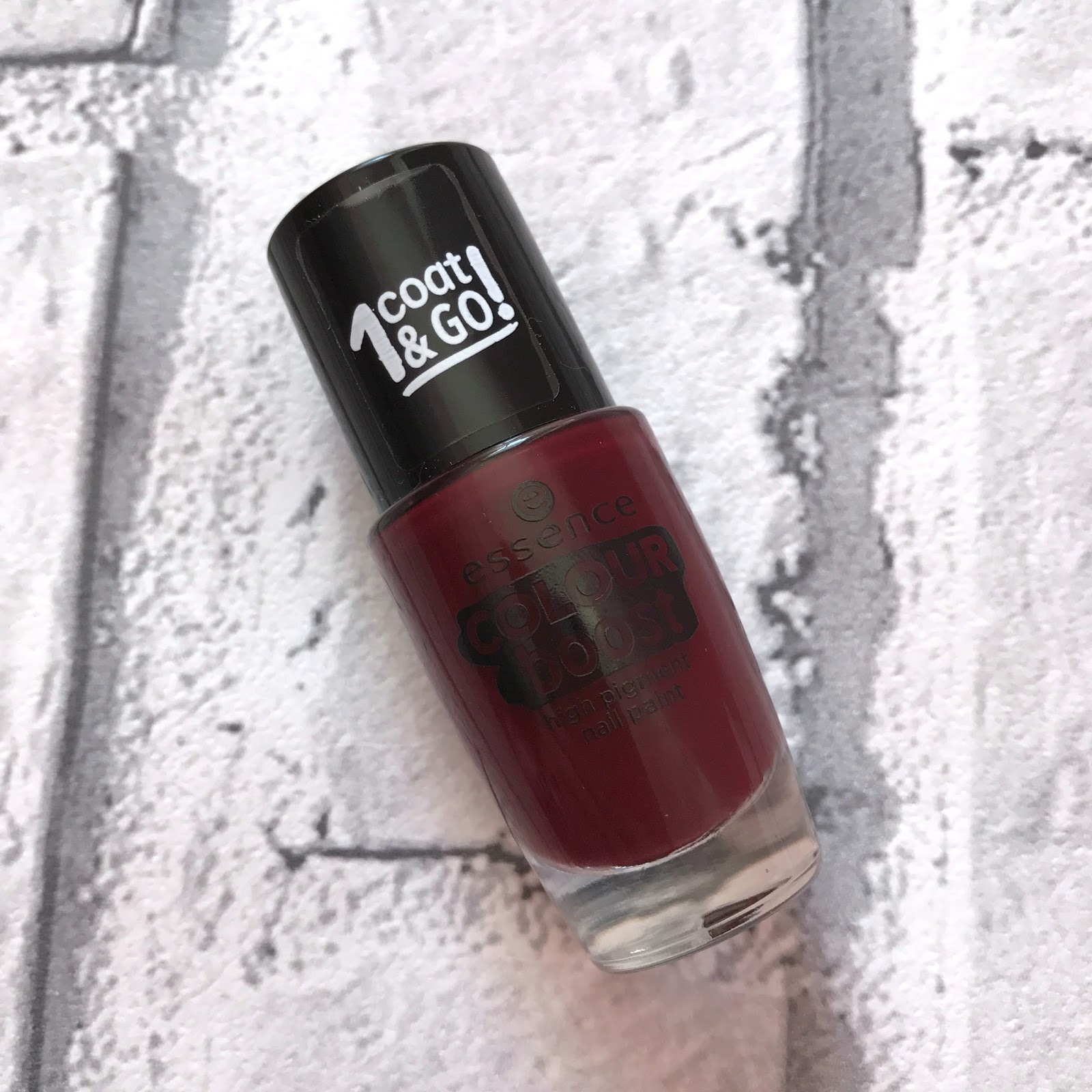 Essence Colour Boost High Pigment Nail Paint - One Coat And Go ...