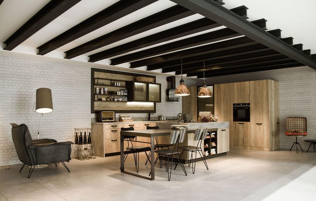 Estremamente Loft by Snaidero: lo stile industriale reinventa la cucina TP26
