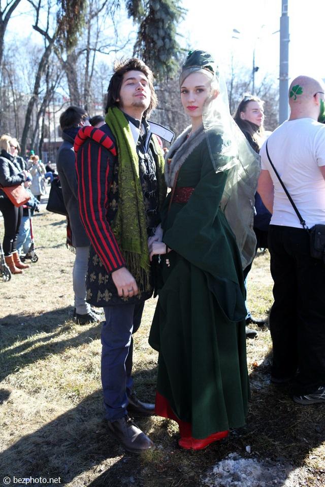день святого патрика одежда