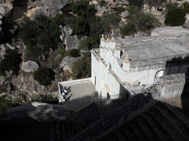 Santuario Madonna della Scala nella gravina di massafra
