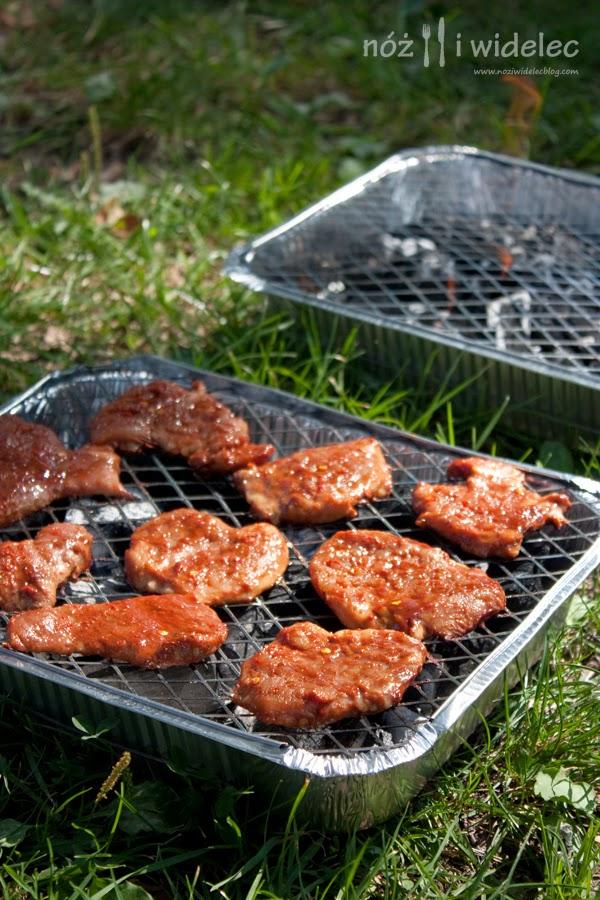 wieprzowina, barbecue, grill