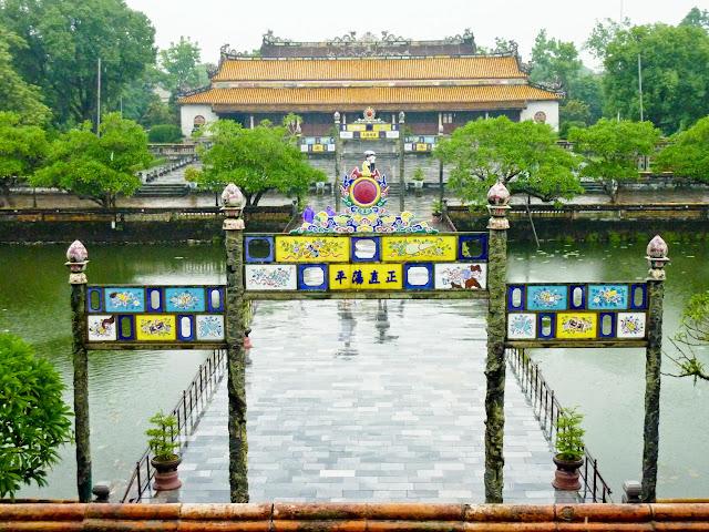 Trung Dao y Thai Hoa Ciudadela de Hué