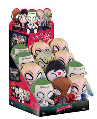 Suicide Squad Mopeez Plush Series by Funko – Harley Quinn, The Joker, Deadshot, Katana & Killer Croc