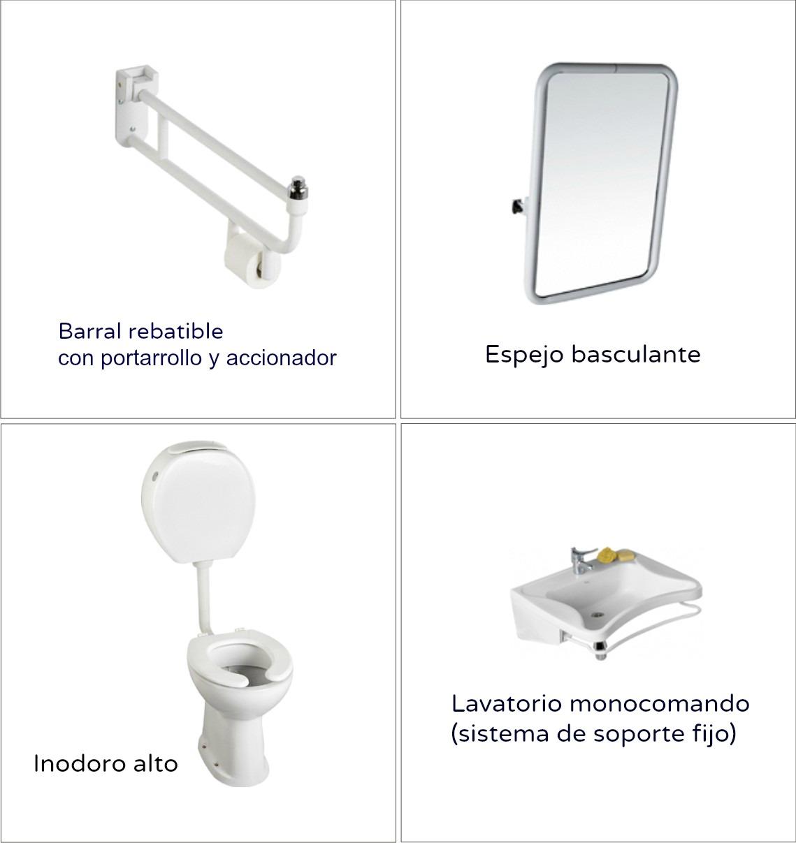 Contigiani espacio l nea sanitaria ferrum para personas for Inodoro para discapacitados ferrum
