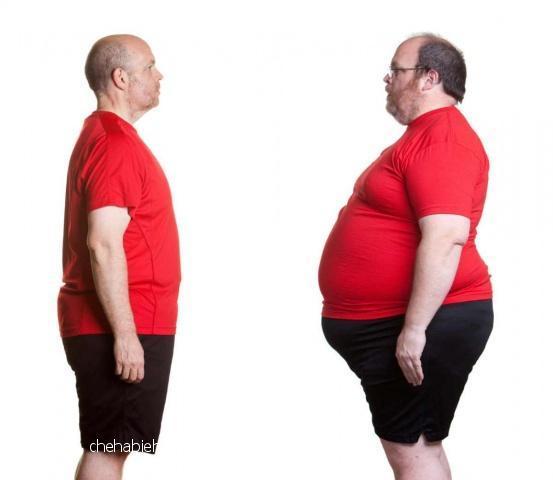 خسر 38 كيلو من وزنه.. وما فعله سهل ولا يخطر على البال!!