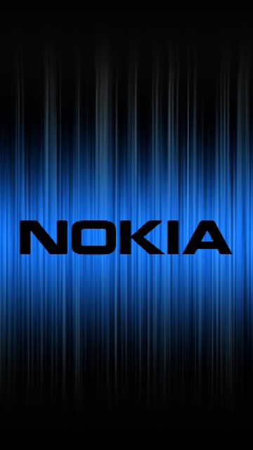 360x640 wallpapers  nokia blue