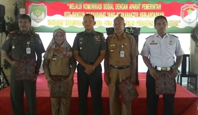 Komsos Kodim 0506/Tgr Dihadiri Tiga Delegasi Wilayah