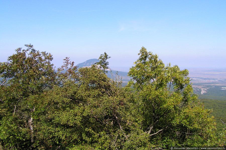 Вид со склона Бештау