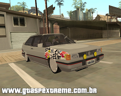 Vw Gol GTi Turbo Edited para grand theft auto