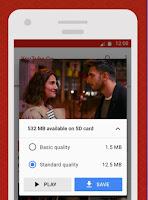 Youtube go save offline