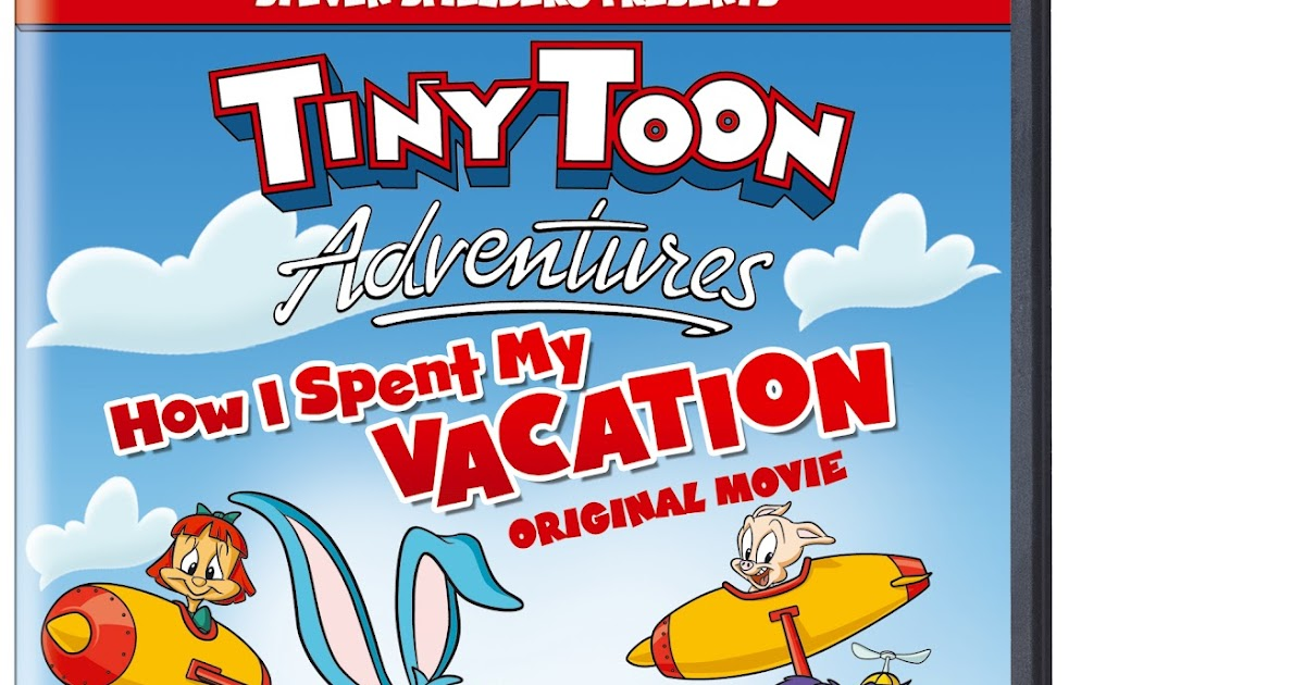 A Rup Life Tiny Toon Adventures How I Spent My Vacation Available August 21st