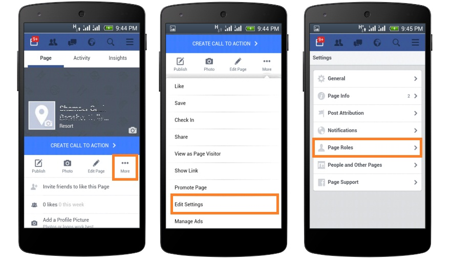 My Mobile Tips: How to add Admin to Facebook Page using Mobile