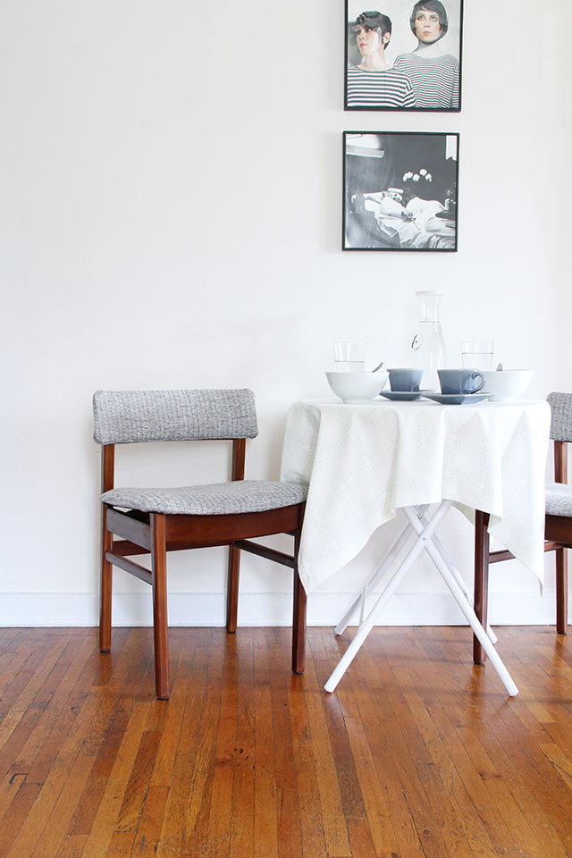 Before & After | Dining Nook Chairs