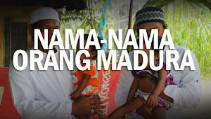 Contoh Nama-Nama Orang Madura