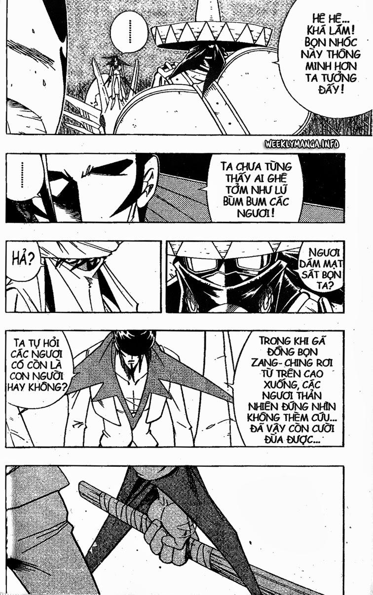 Shaman King [Vua pháp thuật] chap 188 trang 10