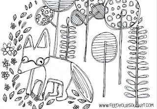 Peekaboo Beans Blog: Coloring Fun!