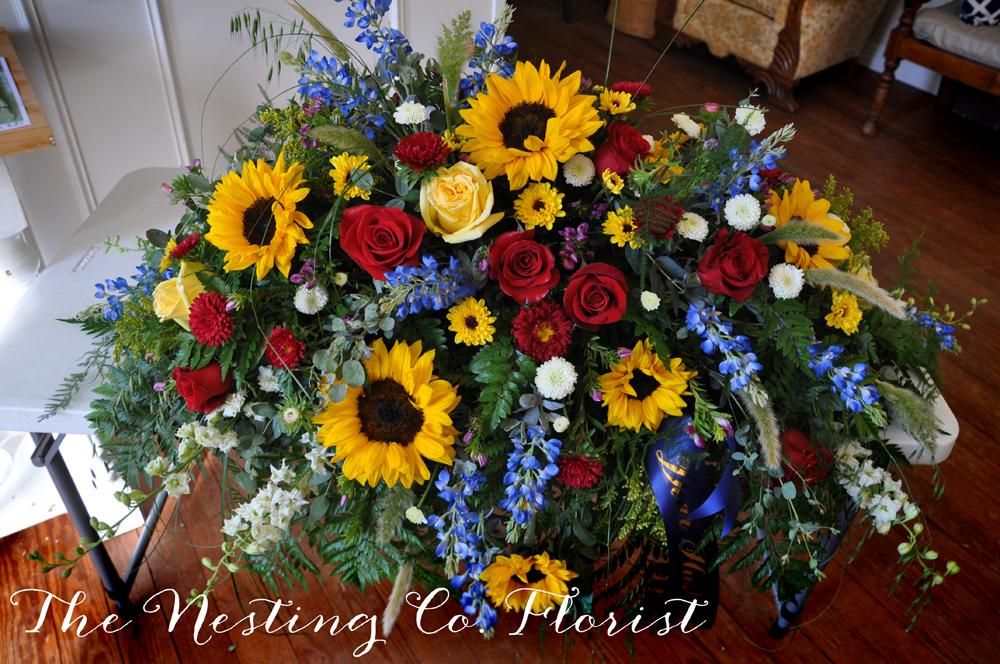 Pink Sunflower Bouquet