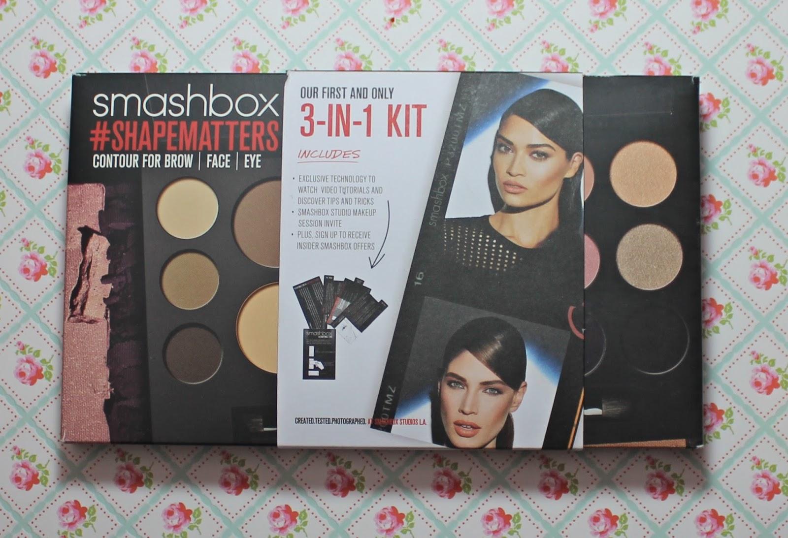 smashbox shapematters palette