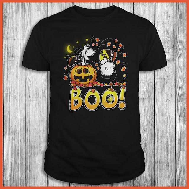 Peanuts Boo! Snoopy Halloween Shirt