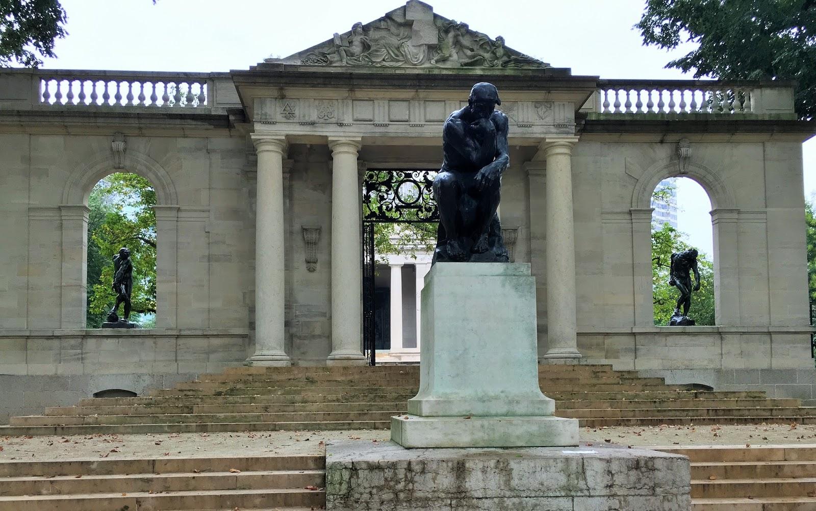 Nomadic Newfies Rodin Museum Philadelphia