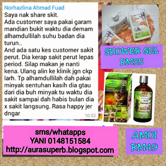 TESTIMONI SHOWER GEL & AMOI
