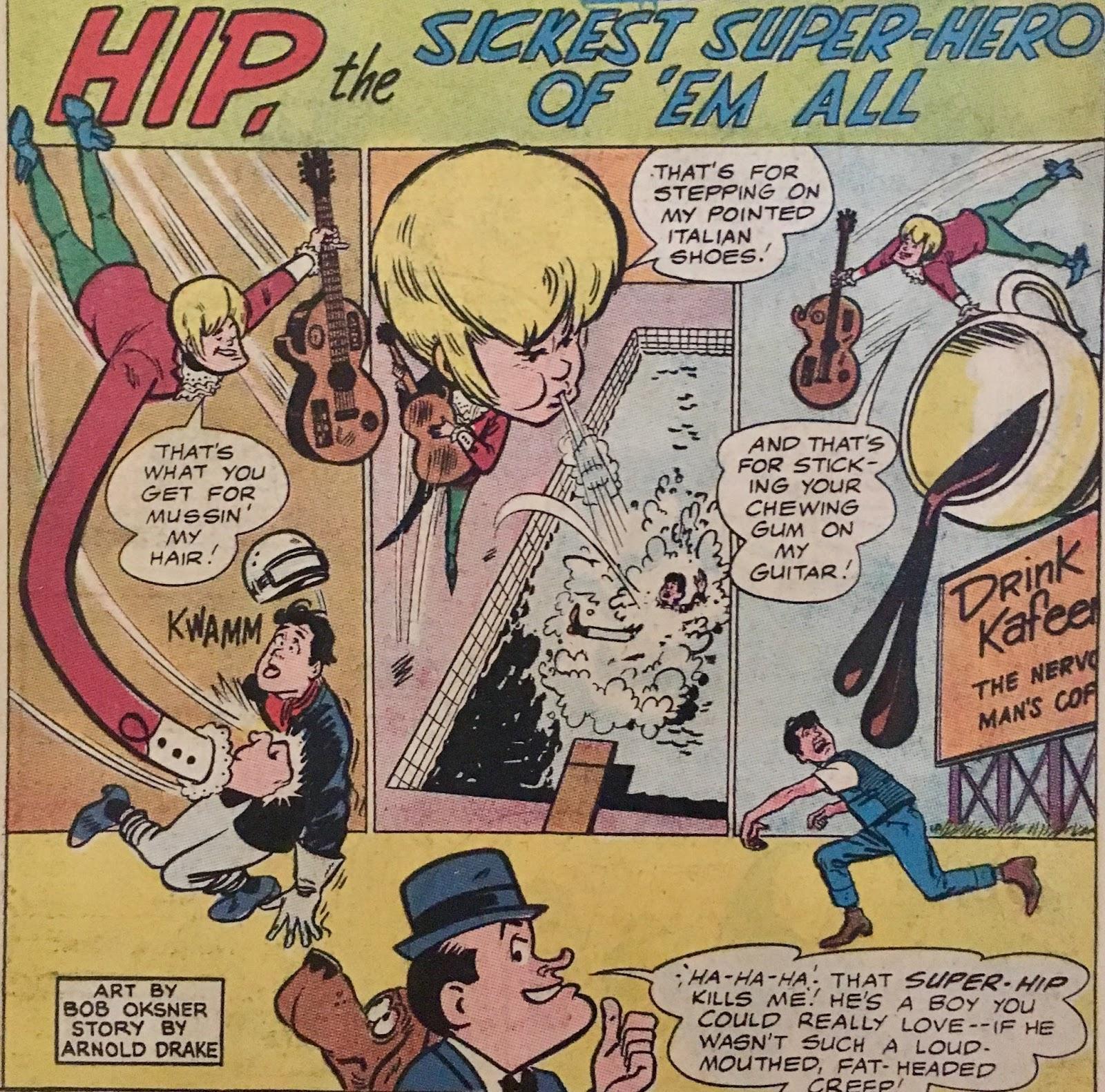 Chris is on Infinite Earths: Adventures of Bob Hope #95 (1965)