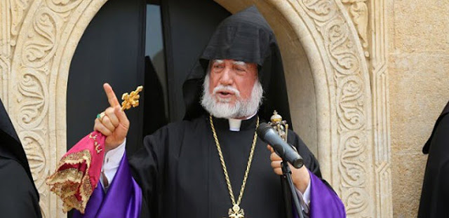 Aram I pide a Turquía que devuelva los templos confiscados durante el genocidio armenio