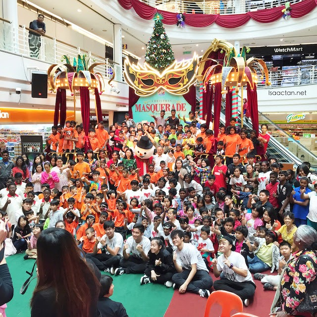 Picture taken from last year's Christmas event at Cheras LeisureMall