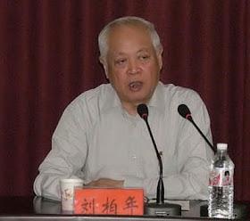 Liu Bainian, funcionário do governo e vice-presidente da Associação Patriótica é o verdadeiro chefe da Igreja colaboracionista