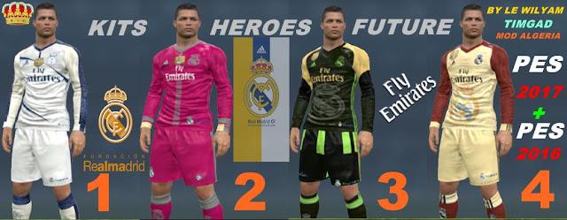 94d4da488 ultigamerz  PES 2017 Real Madrid fantasy Kits