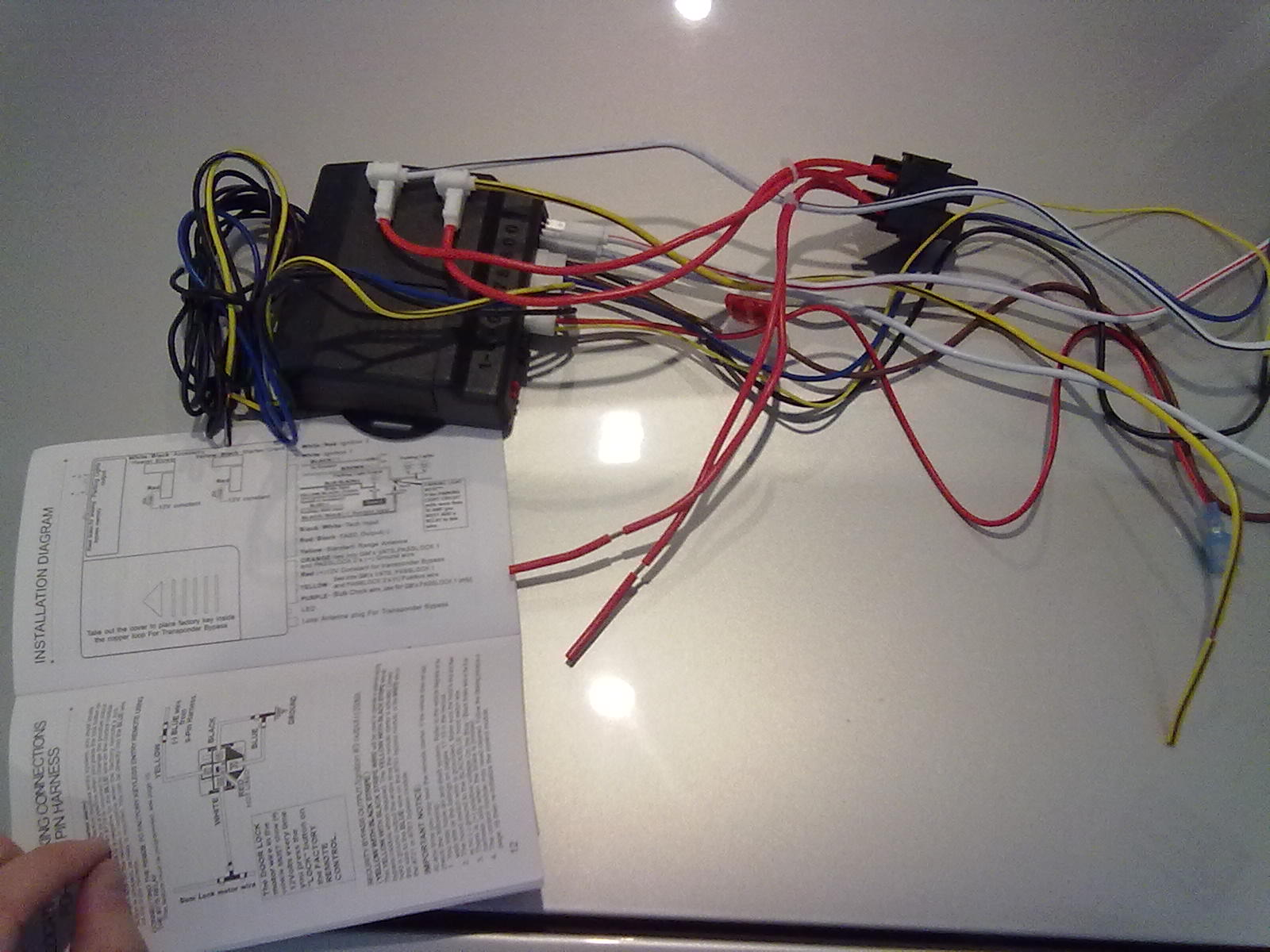 small resolution of bulldog security rs1100 wiring diagram