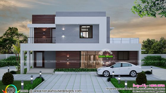 Contemporary 4 bedroom house architectutre