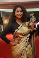 Aditi Myakal look super cute in saree at Mirchi Music Awards South 2017 ~  Exclusive Celebrities Galleries 012.JPG