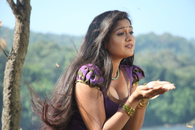 Malayalam actress Meghna Raj hot in blouse