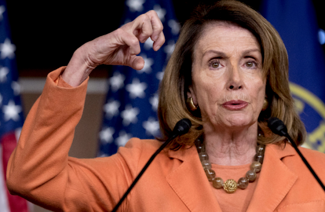 Nancy Pelosi calls GOP continuing resolution is a bowl of doggie poo with a cherry on top.