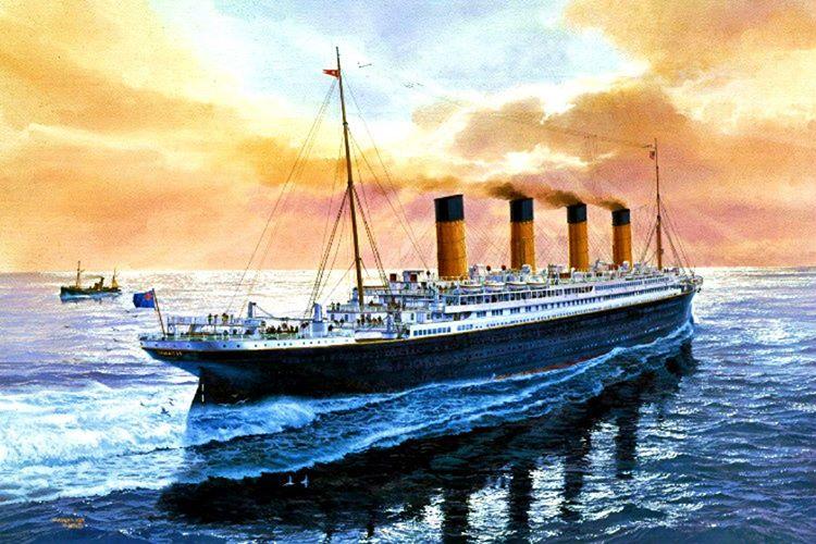 Titanik programının çok arkasında kaldığı için hız litimitinin üstünde bir sürate çıkmıştı.