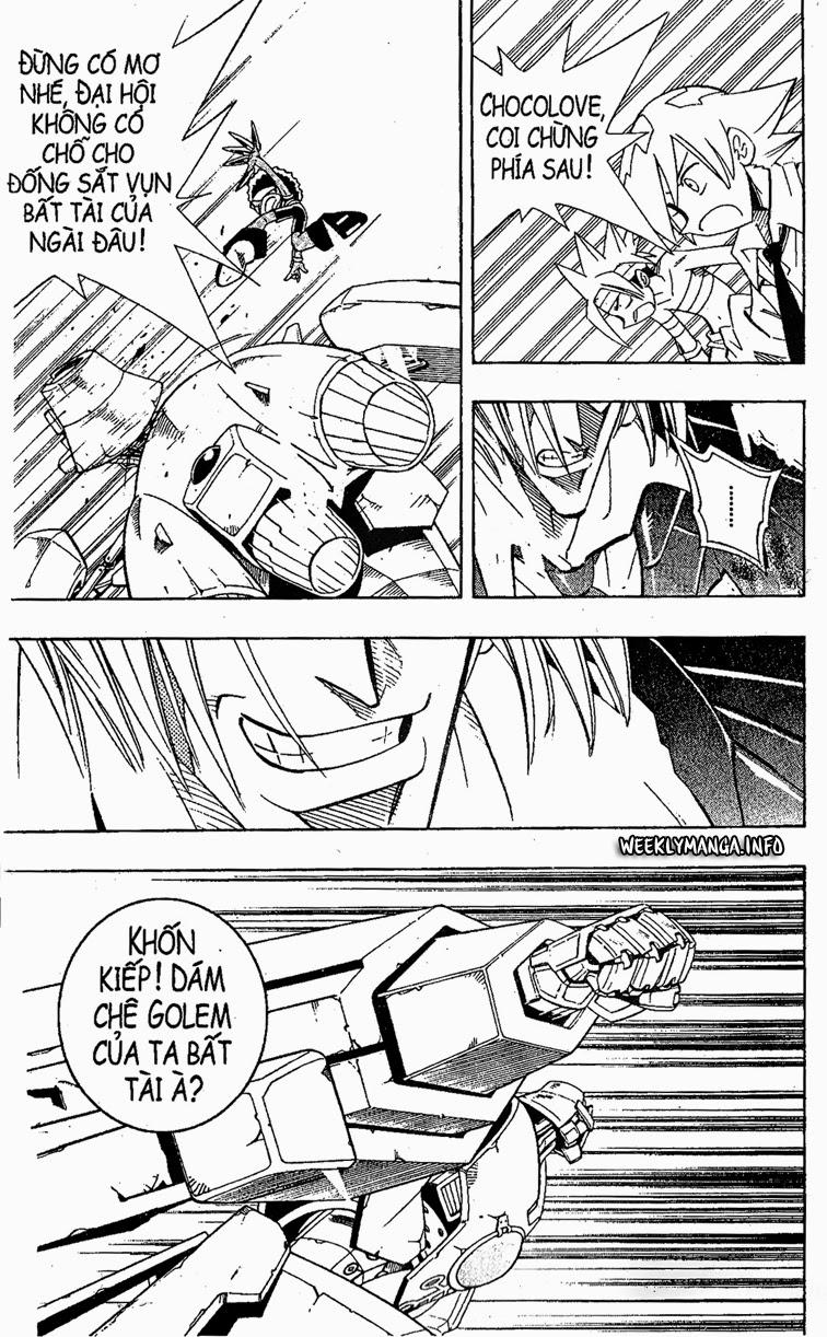 Shaman King [Vua pháp thuật] chap 204 trang 8