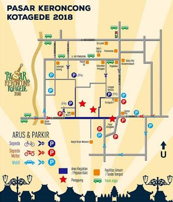 Pasar Keroncong Kotagede 2018, Ini dia Line Up nya!