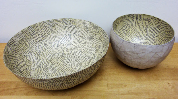 Paper Mache Bowls Projects
