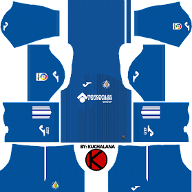 Getafe Cf 2017 18 Dream League Soccer Kits Kuchalana