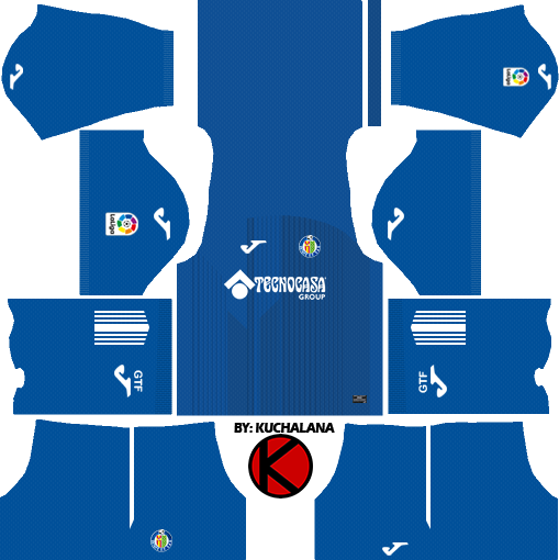 Getafe CF 2017/18 - Dream League Soccer Kits