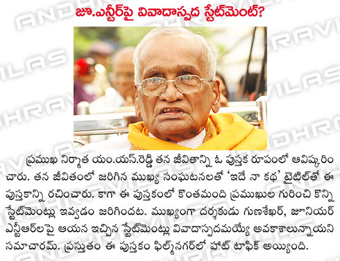 M S Reddy's autobiography : Died Photos of filmmaker M S
