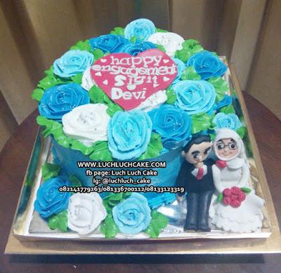 Engagement Cake Hantaran