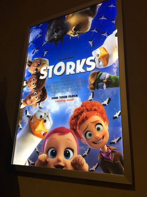 Storks movie from Warner Bros