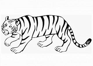 malvorlagen tiger - malvorlagen