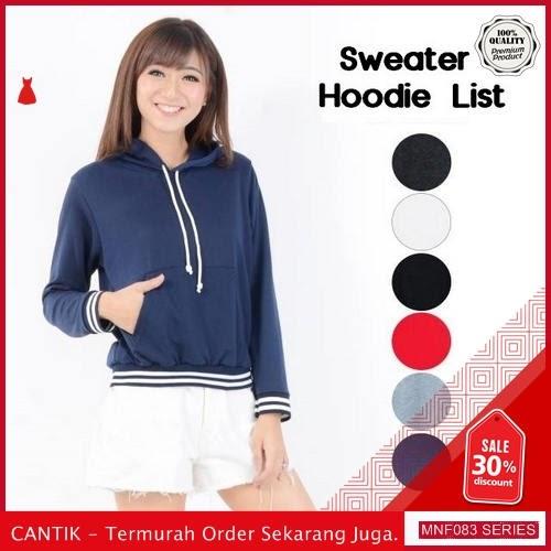 MNF083J45 Jaket Bl Wanita List Hoodie Sweater terbaru 2019 BMGShop