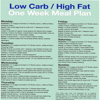 GENEROSITIES OF THE HEART--A RECIPE BLOG FOR TYPE 2 DIABETICS: ARTICLES: LOW CARB HIGH FAT ONE ...