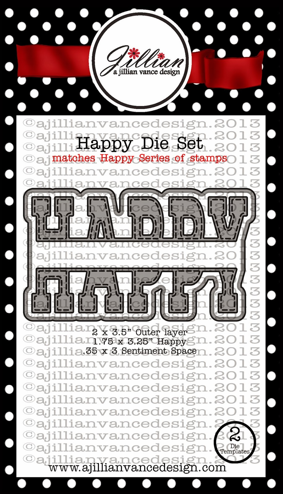 Happy die set